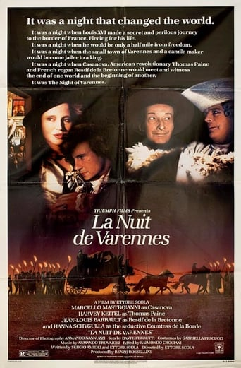 Poster of The Night of Varennes