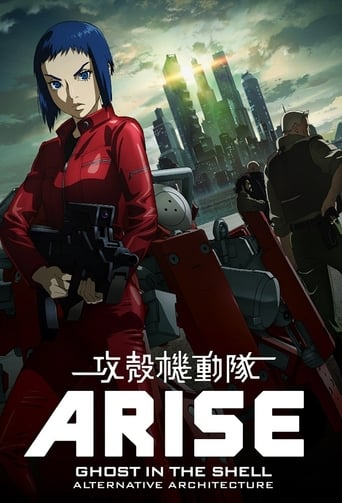 Cartoni animati Ghost in the Shell: Arise - ????? Arise Alternative Architecture