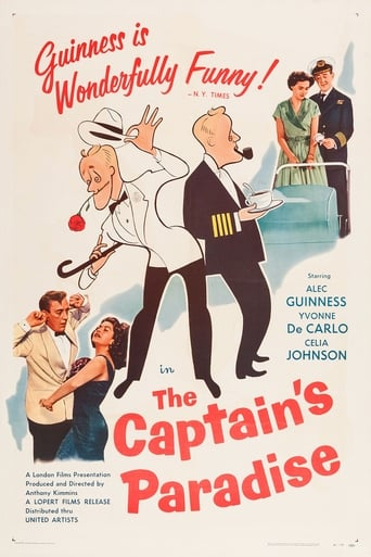 Poster of The Captain's Paradise