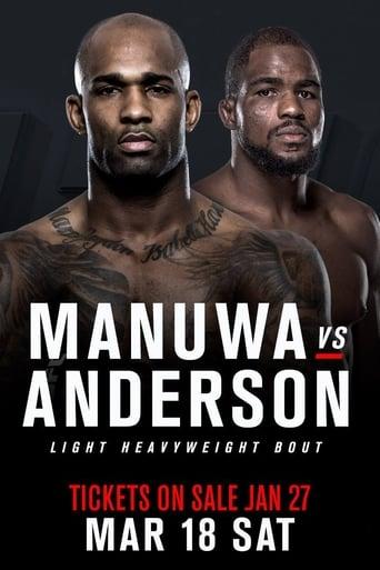 Poster of UFC Fight Night 107: Manuwa vs. Anderson