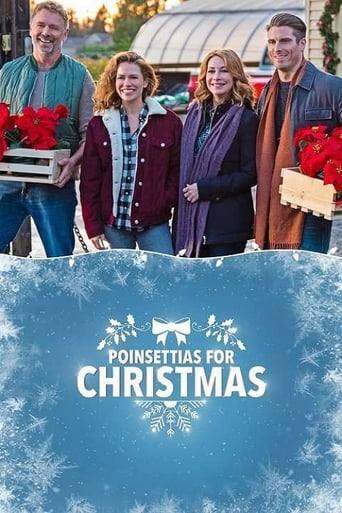 Poster of Poinsettias for Christmas