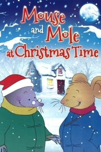 Poster of Mouse and Mole at Christmas Time