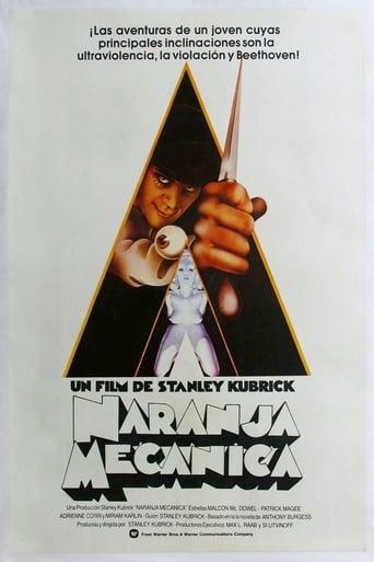 Poster of La naranja mecánica