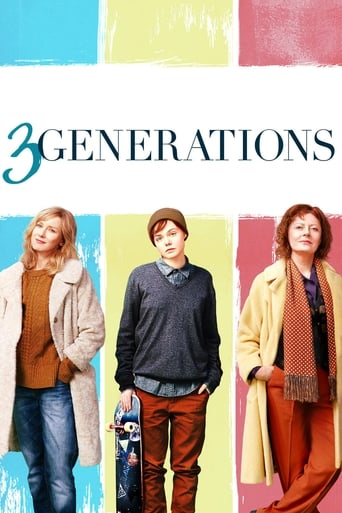 Poster of 3 Generations fragman