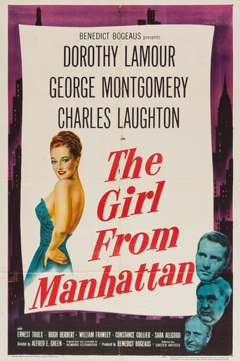 Poster of The Girl from Manhattan