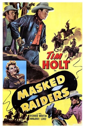 Poster of Masked Raiders