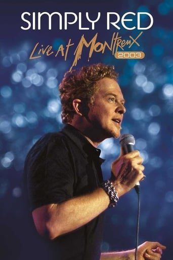 Poster of Simply Red : Live at Montreux 2003