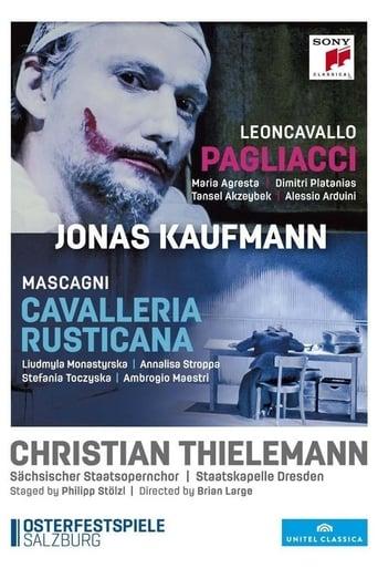 Poster of Mascagni Cavalleria Rusticana - Leoncavallo Pagliacci