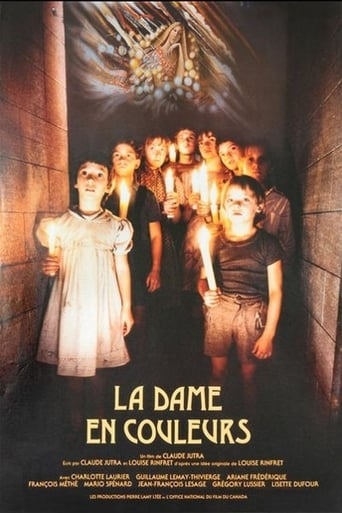 Poster of La dame en couleurs