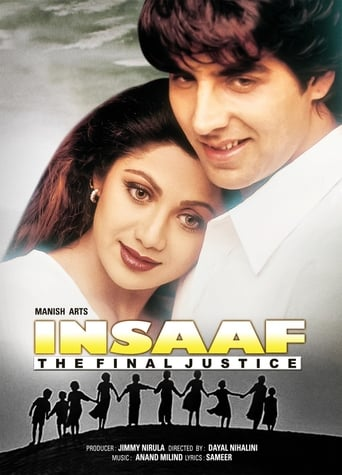 Poster of Insaaf: The Final Justice