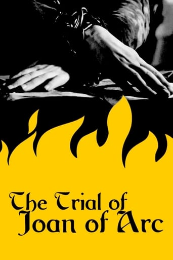 Poster of The Trial of Joan of Arc