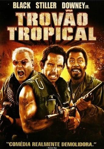 Trovão Tropical - Poster