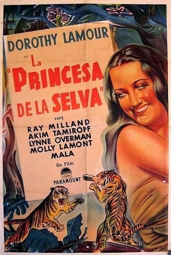 Poster of La princesa de la selva