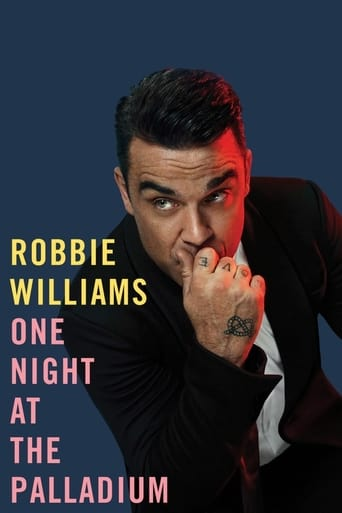 Poster of Robbie Williams: One Night at the Palladium