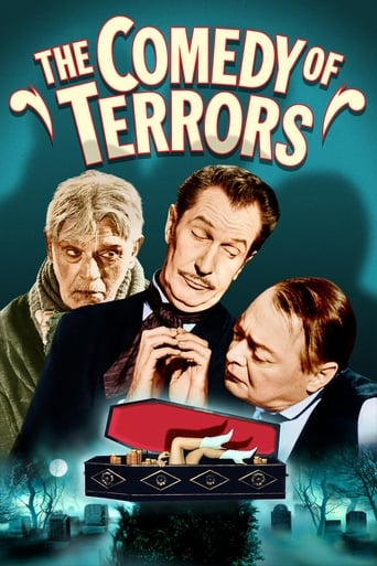 Poster of The Comedy of Terrors