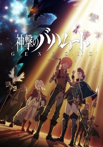 Poster of 神撃のバハムート