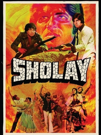 Poster of Sholay