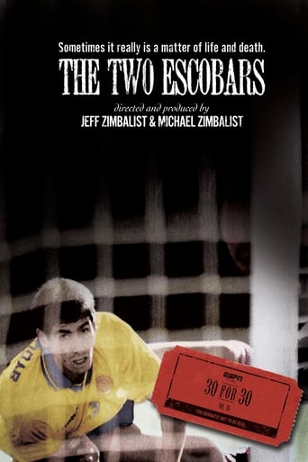 The Two Escobars poster