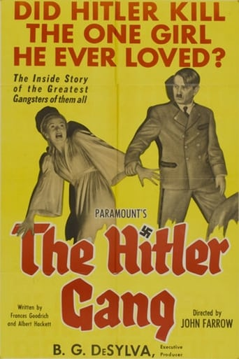 Poster of The Hitler Gang