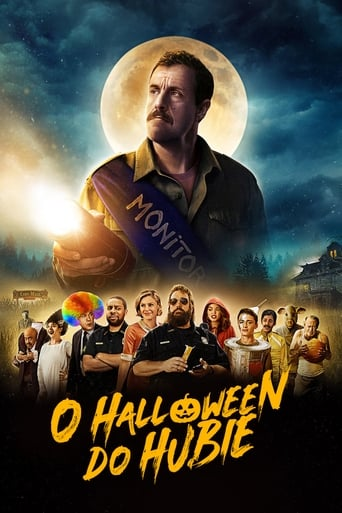 O Halloween do Hubie - Poster