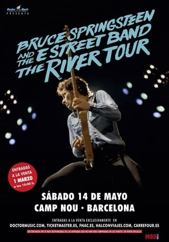 Poster of Bruce Springsteen - The River Tour - Barcelona 2016