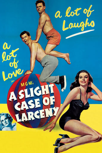 Poster of A Slight Case of Larceny