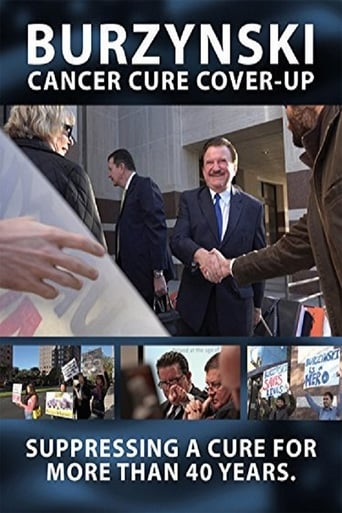 Poster of Burzynski: The Cancer Cure Cover-Up