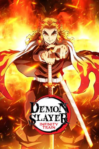 Poster of Demon Slayer Movie: Infinity Train