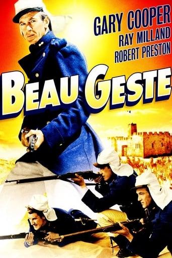 Poster of Beau Geste