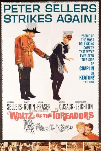 Poster of Waltz of the Toreadors