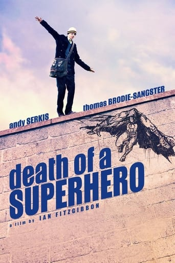 Death of a Superhero (2011) - poster