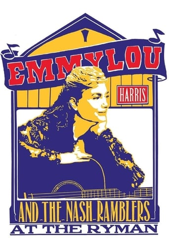 Poster of Emmylou Harris & The Nash Ramblers at The Ryman