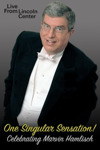 Poster of One Singular Sensation! Celebrating Marvin Hamlisch