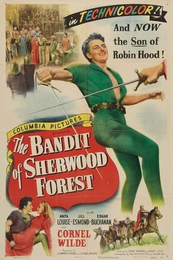 Poster of The Bandit of Sherwood Forest