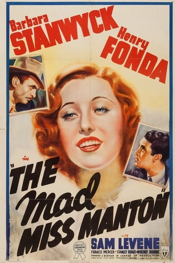 Poster of The Mad Miss Manton