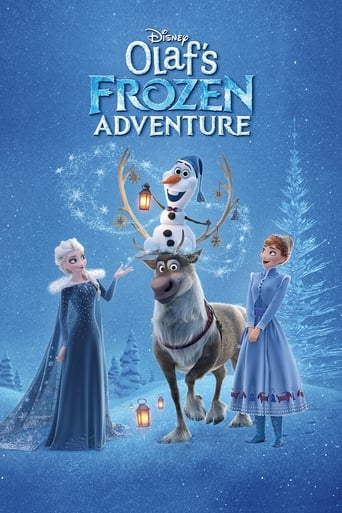 Official movie poster for Olaf's Frozen Adventure (2017)