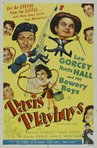 Poster of Paris Playboys