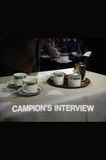 Poster of Campion's Interview