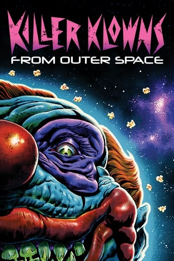 Poster of Killer Klowns from Outer Space