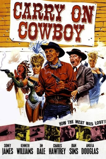 Carry On Cowboy (1965) - poster