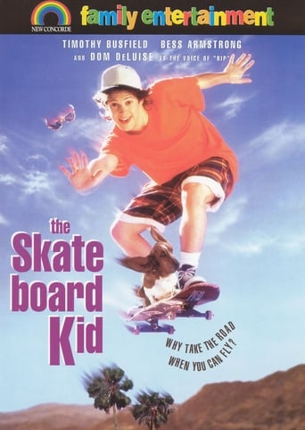 Poster of The Skateboard Kid