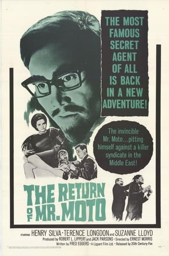 Poster of The Return of Mr. Moto