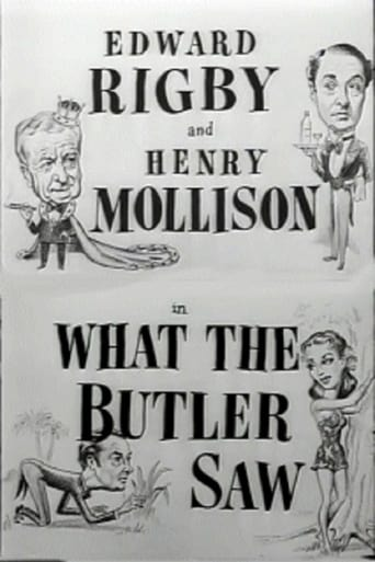 Poster of What the Butler Saw