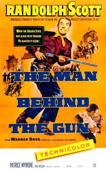 Poster of The Man Behind The Gun