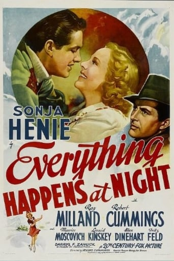 Poster of Everything Happens at Night