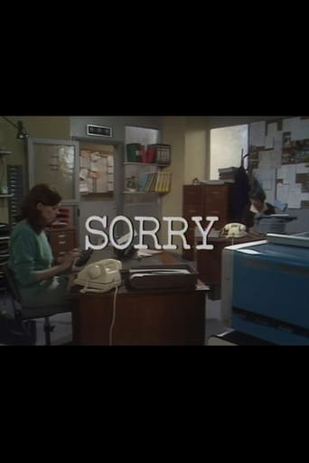 Poster of Sorry