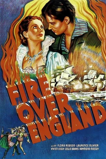 Poster of Fire Over England