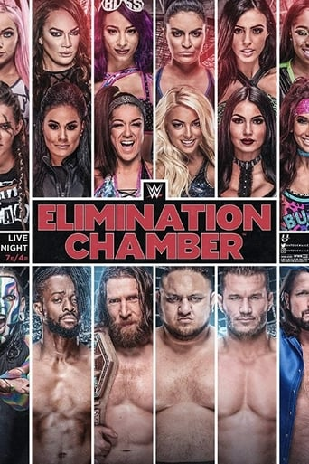 Poster of WWE Elimination Chamber