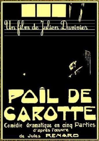 Poster of Poil de carotte