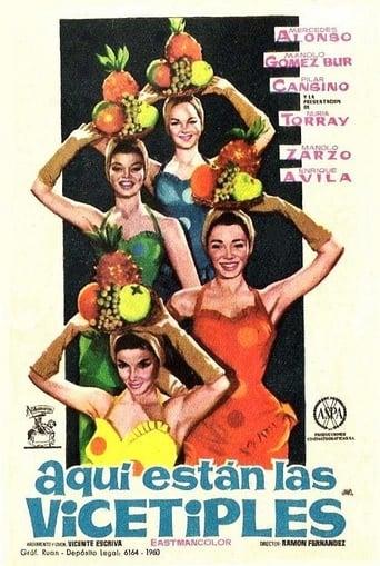 Poster of ¡Aquí están las vicetiples!